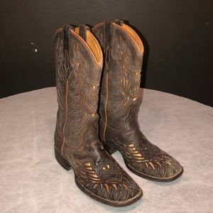 Lucchese exotic cowboy boots